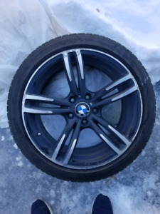 Pneus Michelin et mags BMW