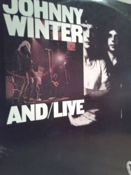 Johny Winter -And/live 2lp