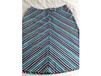 Size 12 Fat Face cotton skirt 100% cotton