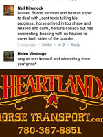 HORSE TRANSPORT~780-387-8851~COAST to COAST book NOW!!!!!!!