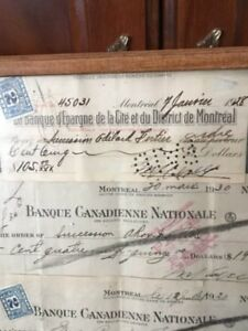 OLD BANQUE PAPER ANTIQUE