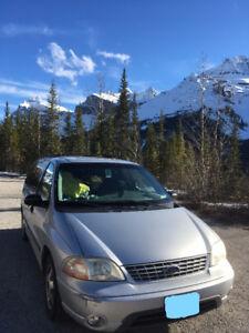 2003 Ford Windstar Minivan, Campervan, Van - The Great Camper