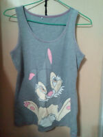 Disney Thumper the Rabbit Tank Top youth sz 12-14
