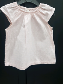 Baby girls pink top from h&m brand new