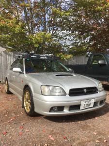 2000 Subaru Legacy B4 Sedan AS IS NEEDS CLUTCH