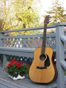 Fender Early 80's Acoustic Guitar...