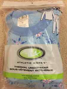 Thermal underwear 2 pieces set - size 6X Cambridge Kitchener Area image 1