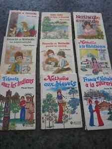 Livre Nathalie et Francis éditions Paulines (vintage 1976)