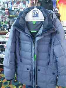 Outdoor jacket 'Jaboah' with down/feather padding by BOSS