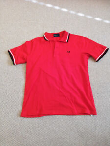 5ff97aa08 Lacoste + Fred Perry Polos Mens Size Medium