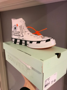 OFF-WHITE x Converse Chuck Taylor All Star 70s Size 10.5
