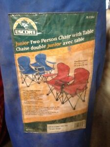 Escort, Junior 2 person chairs with table