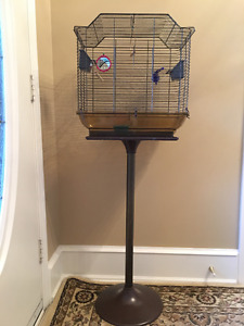 Bird Cage on Stand 60.00 obo