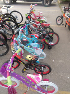 Bikes all at a great price adults and kids