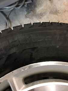 15 inch Michelin X Ice Civic rims and tires St. John's Newfoundland image 3