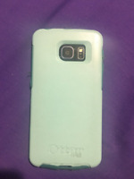 Samsung Galaxy Edge 6 with Box and Otter Box