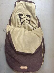 JJ Cole Stroller cover - brown