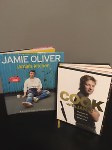 Two Jamie Oliver Hardcover Cookbooks - Great condition!