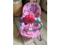 Fisher Price musical and light up bouncer