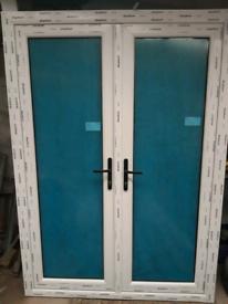 Brand new french patio double doors