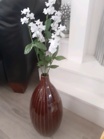 Beautiful Tall Vase And Flowers