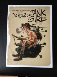 The Hole of Tank Girl Hardcover Signed