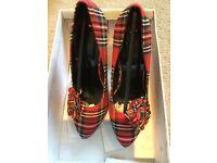 Tartan shoes 👠