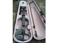 Electric Violin,bow, rosin and case.