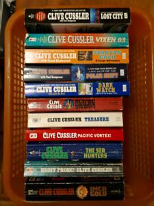 Clive Custer books