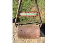Vintage Ironcrete Garden Roller