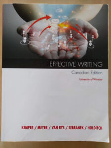 Effective Writing: Canadian Edition