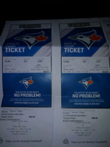2 Blue Jays Tickets vs Rays Sept 21st need gone ASAP
