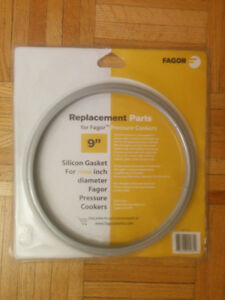 "FAGOR 9"" Pressure Cooker Seal, Rubber Ring"