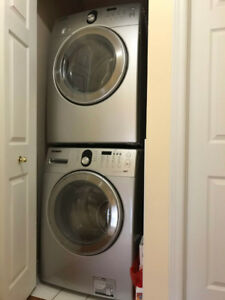 Used Samsung washer and drier set