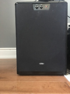 "Front firing 8"" Omage Power Subwoofer"