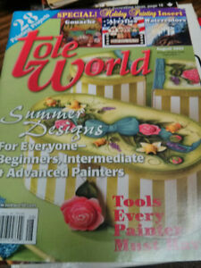 Tole Painting Magazines/Patterns