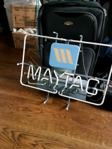 New old stock maytag neon sign needs repair