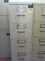 4 Drawer Verticle Filing Cabinets