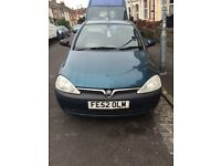 Vauxhall corsa for parts or revamp!!!