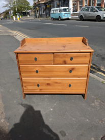 IKEA Leksvik Chest Of 6 Drawers - solid pine.