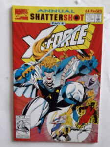 X-Force, Marvel, Comic Book, anglais, 1997, 2$ chaque