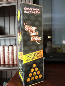 Strip & Dare Beer Pong with a Sexy Twist - Brand new never used Kitchener / Waterloo Kitchener Area image 1