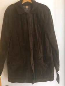 BRAND NEW WITH TAGS! Andrew Marc Calf Suede Jacket
