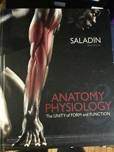 Anatomy and Physiology - The Unity of Form and Function Peterborough Peterborough Area image 1