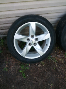 5x114.3 NICE SUMMER RIMS FROM LANCER BUT FITS MOST CARS $250/SET
