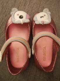 Mini Melissa unicorn shoes