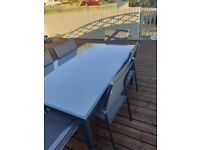 Glass Garden Dining Table