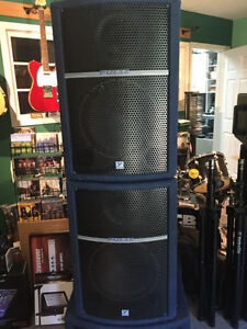 Yorkville-Pulse series PA speakers & matched Powered Subwoofer Kingston Kingston Area image 2