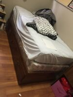 Single captain bed frame with 3 drawers $60 only.  Varsity nw