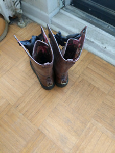 Dr Martin's leather boots